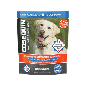 Cosequin<sup>®</sup> Maximum Strength with MSM Plus Omega-3's Soft Chew