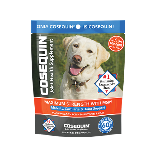 Cosequin® Max Strength with MSM plus Omega-3's Soft Chews